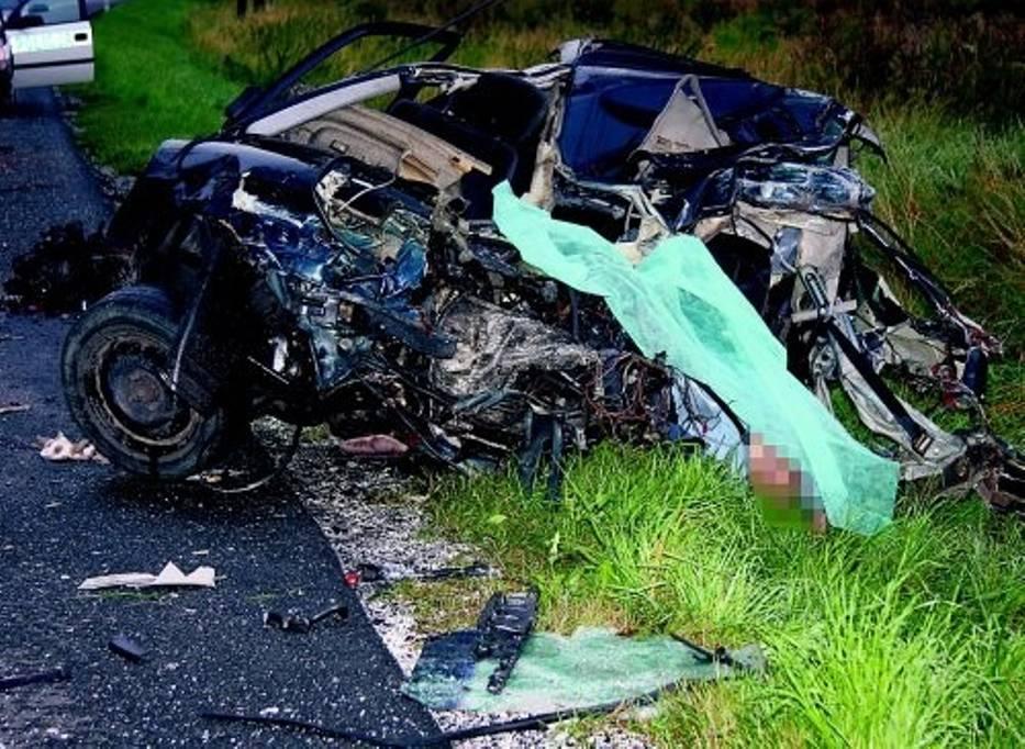 24-letni kierowca opla astry zginął na miejscu