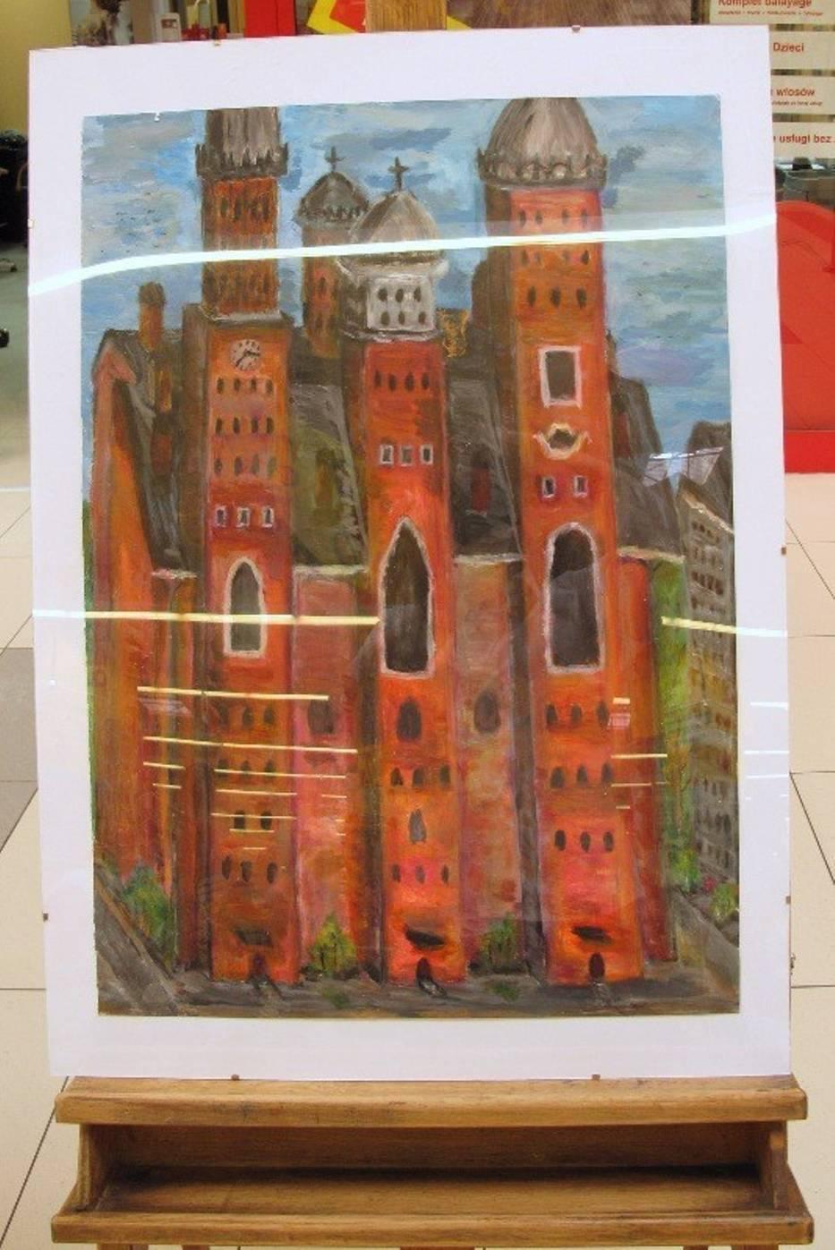 Dzieła Niepełnosprawnych Artystów Do Zobaczenia W Auchan