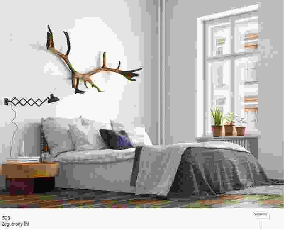 Arktyczna biel w sypialni - najlepsze inspiracje
