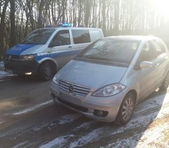 Policjanci złapali kierowcę, który miał zakaz prowadzenia pojazdów
