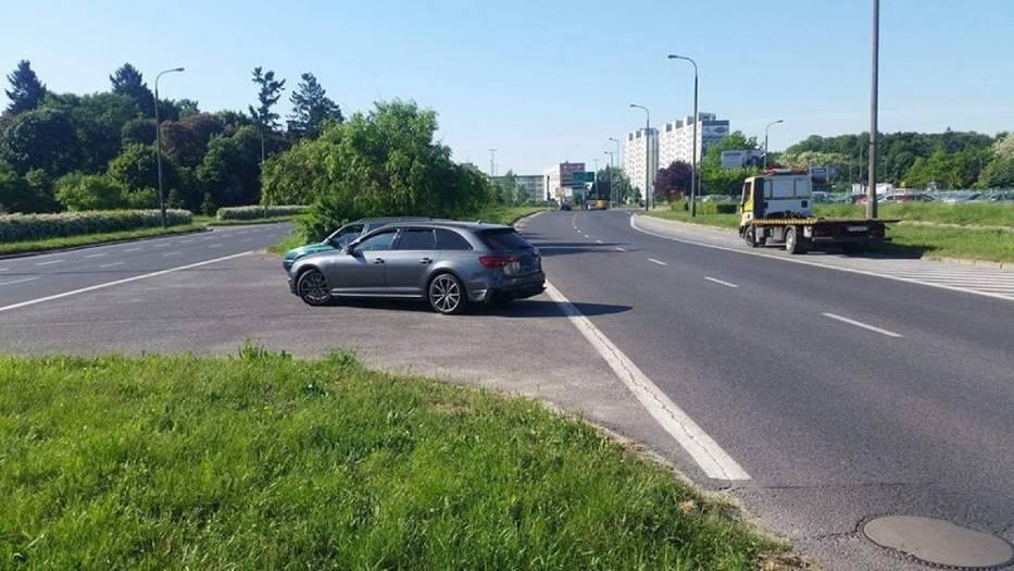 Do zdarzenia doszło w poniedziałek, 14 maja, na ul Piłsudskiego w Gorzowie