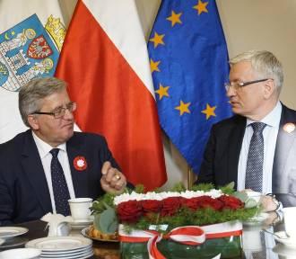 Bronisław Komorowski przyjedzie do Poznania