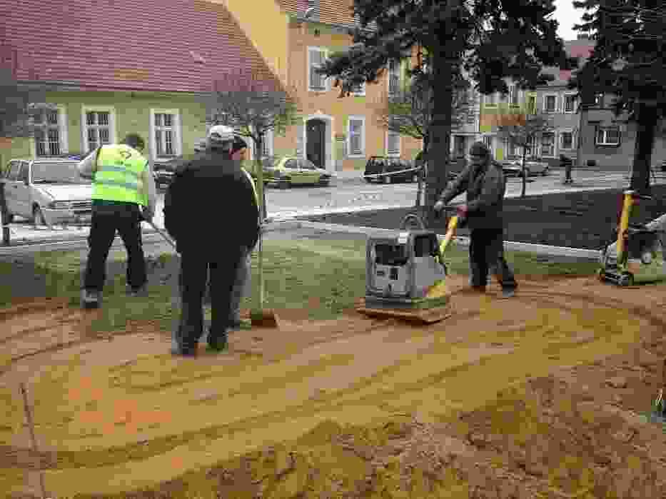 Przebudowa rynku w Dolsku