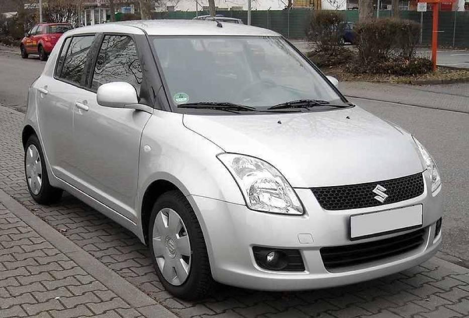 Poprzednia generacja Suzuki Swift