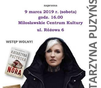 Spotkanie autorskie z Katarzyną Puzyńską już dzisiaj w Miłosławiu. Zapraszamy!