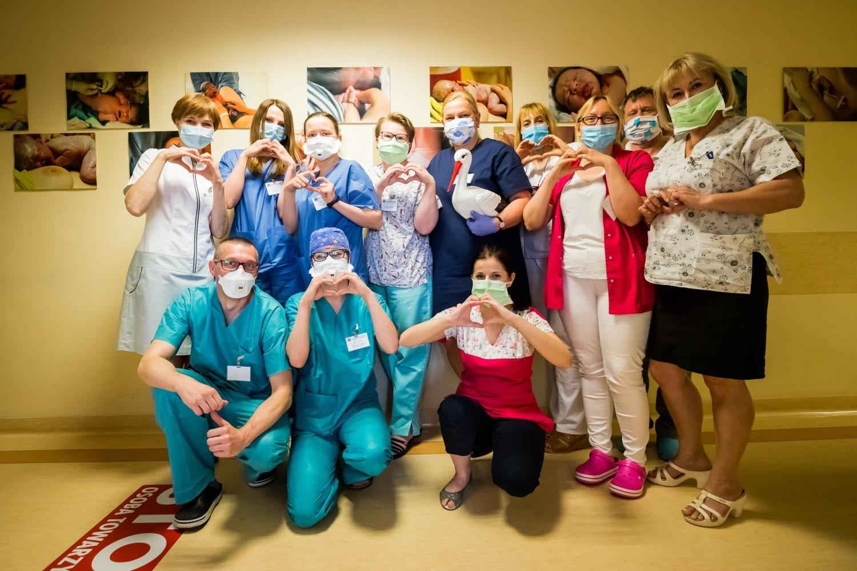 Dzień Położnej, Międzynarodowy Dzień Pielęgniarki w szpitalu Biziela