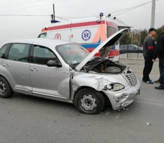 Wypadek w Brzeznej. Jedna osoba poszkodowana [ZDJĘCIA]