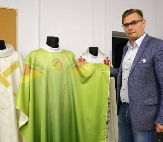Firma z Piotrkowa przygotowała ornat dla papieża Franciszka