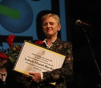Izabela Morska z Łódzką Nagrodą Literacką