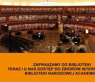 W bibliotece w Pruszczu Gdańskim tysiące książek i czasopism naukowych