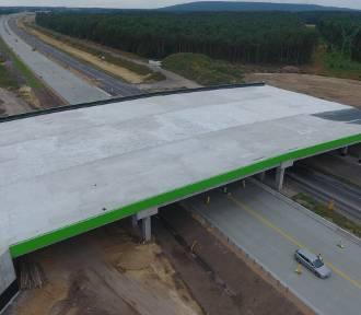 Nowe utrudnienia na budowie A1 w okolicach Kamieńska