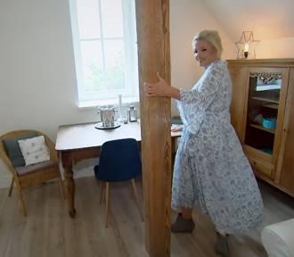Dorota Szelągowska w pałacu niedaleko Nowej Soli. Oceniła pokój na poddaszu