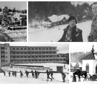 Zimowa Sądecczyzna przed laty. Zobacz archiwalne zdjęcia