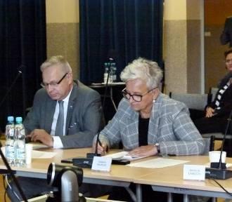 Zduńska Wola. Powiat podpisze z kolejową spółką porozumienie w sprawie portu multimodalnego