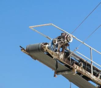 Śmierteiny wypadek na bocznicy kolejowej w kopalni w Czarnym Borze