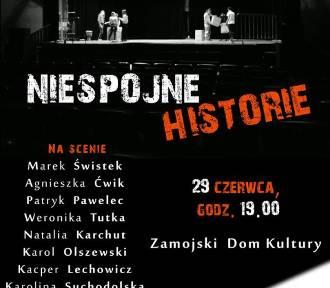 """""""NIESPÓJNE HISTORIE"""" - Pokaz Grupy Warsztatowej podczas 42. Zamojskiego Lata Teatralnego"""
