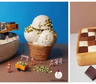 Miniaturowy świat w ciastach włoskiego cukiernika! [ZDJĘCIA]