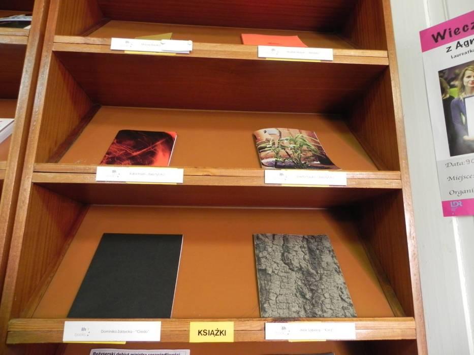 Książki fotograficzne w MBP w Ostrowcu Świętokrzyskim
