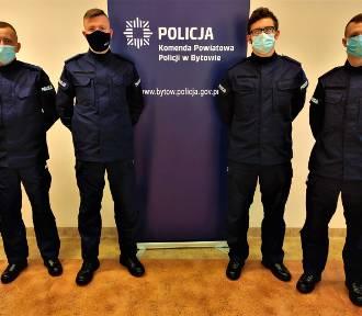 W Bytowie jest czterech nowych policjantów
