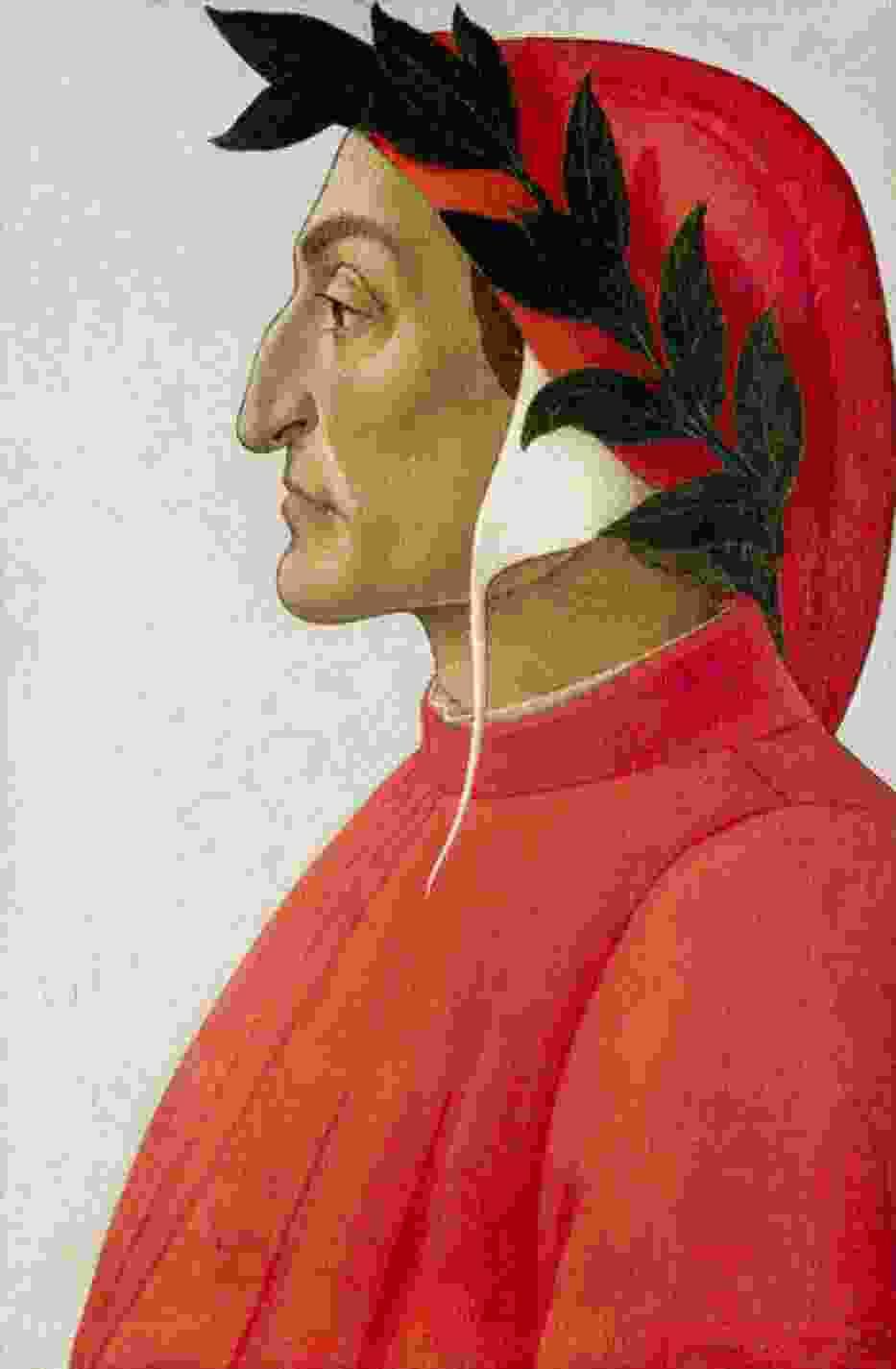 Portret Dante Alighieri