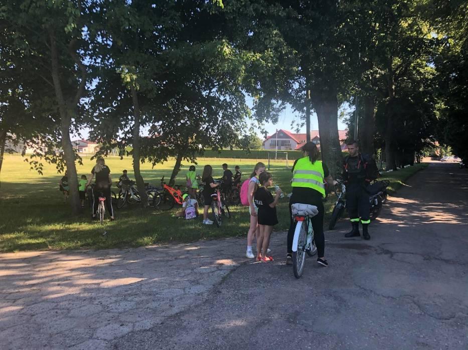 Wycieczka rowerowa członków MDP OSP Mrzezino - 1 sierpnia 2020