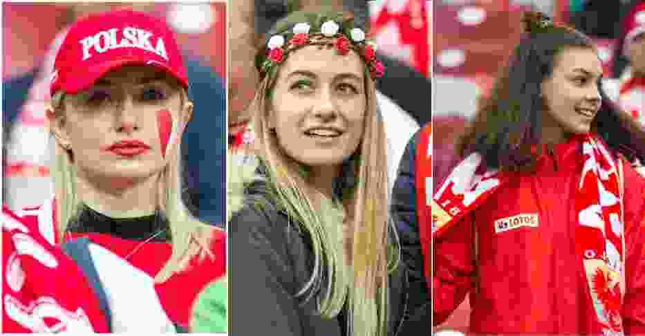 Polska - Czarnogóra: Kibice ponieśli piłkarzy! Piękne fanki i głośny doping na Narodowym [ZDJĘCIA]