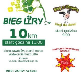 Bieg Liry w Krzywiniu odbędzie się już 1 września [ZAPOWIEDŹ]