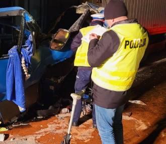 Policja wyjaśniała przyczyny tragicznego wypadku na A1