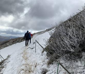 U nas słoneczna wiosna, a w Bieszczadach jeszcze widać śnieg [ZDJĘCIA]