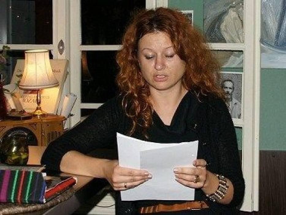 Izabela Wageman czyta swoje wiersze