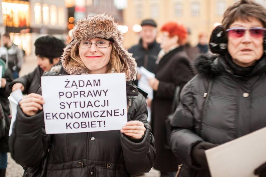 Kobiety znów wyszły na ulicę i walczą o swoje prawa