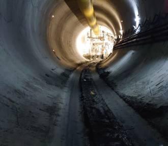Faustyna drążąca tunel jest już pod aleją Włókniarzy! NOWE ZDJĘCIA