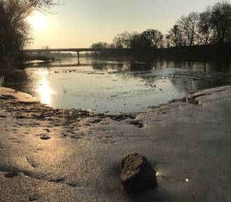 Rośnie poziom wody w rzece Warcie