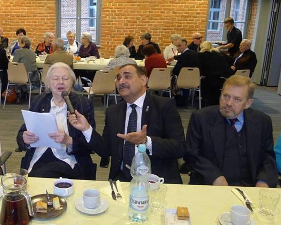 Teresa Stanek spiritus movens i sekretarz generalny Towarzystwa Obrony Zachodnich Kresow Polski