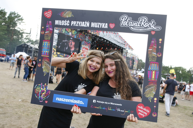 Najpiękniejsze dziewczyny na Pol'and'Rock 2019. Oto ładniejsza strona dawnego Woodstocku [ZDJĘCIA]