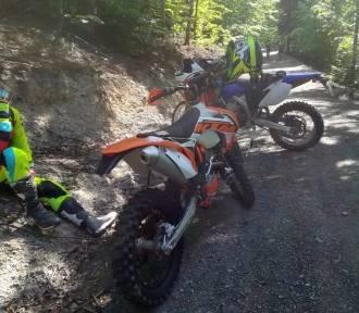 Jazda motocyklem po lasach legalna? Przyrodnicy zszokowani pomysłem leśników