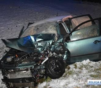 Wypadek w Kunicach na DK 94. Są poważnie ranni