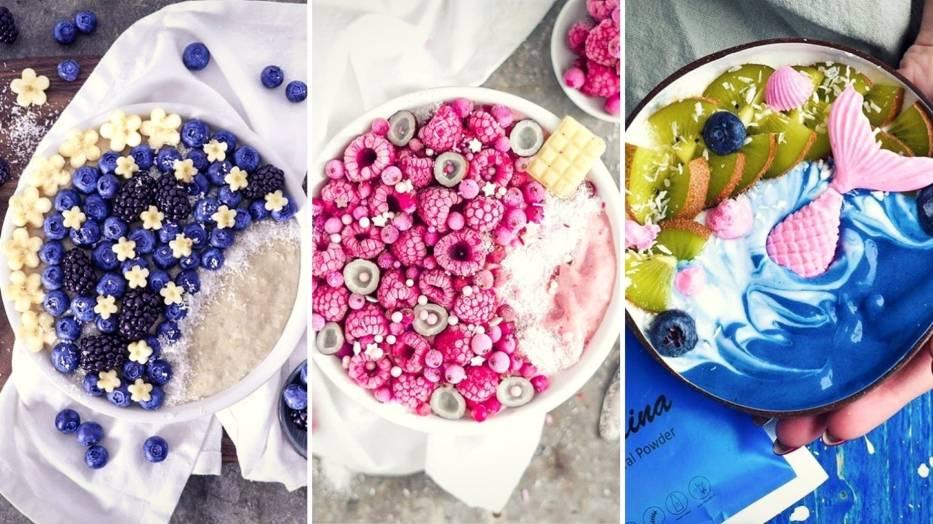 Smoothie-bowl to posiłek, który po obejrzeniu tej galerii na pewno znajdzie się w twoim menu