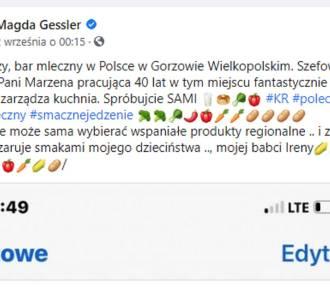 Magda Gessler ogłosiła, że najlepszy bar mleczny w Polsce jest w Gorzowie