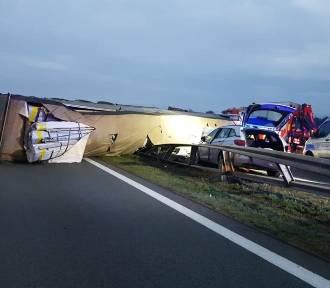 Wypadek na A2. Autostrada zablokowana!