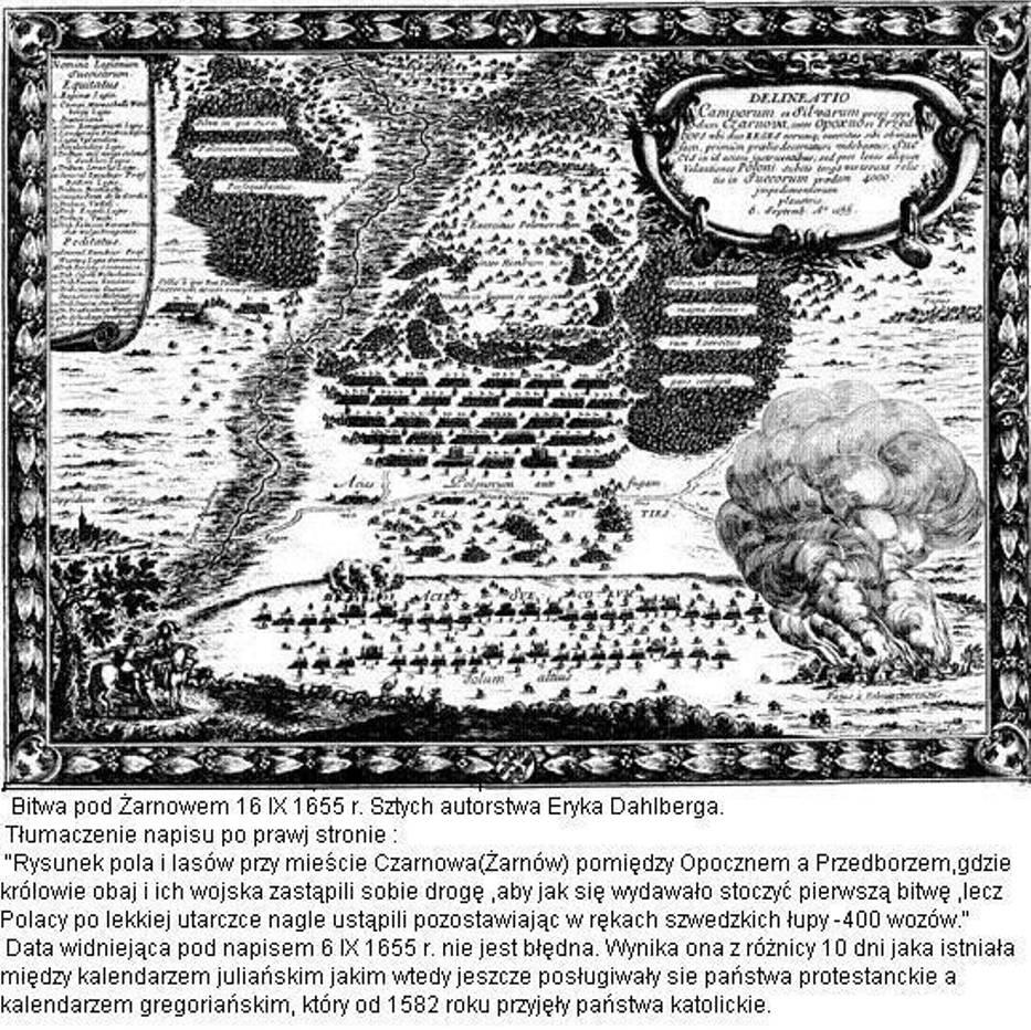 Bitwa pod Żarnowem 16 IX 1655 rok