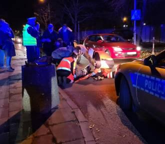 Stargard. Nietrzeźwy chłopak wpadł pod auto przy ul. 9. Zaodrzańskiego Pułku Piechoty