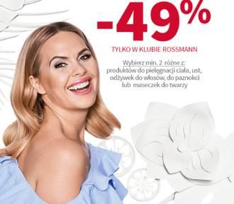 Aktualna promocja w Rossmannie. Niektóre produkty tańsze nawet o 49 proc.!
