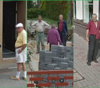 Perełki Google Street View z powiatu radziejowskiego. Jesteście na zdjęciach?