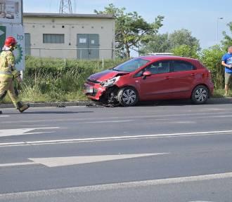 Zderzenie trzech samochodów na ul. Gdyńskiej