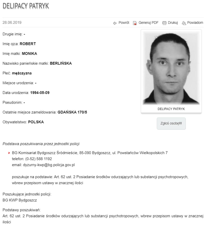 Handlarze narkotyków poszukiwani przez kujawsko-pomorską policję [zdjęcia]