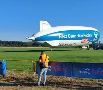 Zeppelin nad Śląskiem! Mieszkańcy przecierają oczy ze zdumienia