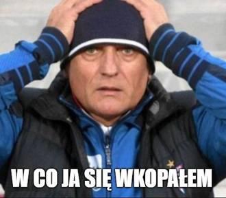 Memy po nieudanym debiucie Nawałki w Lechu Poznań