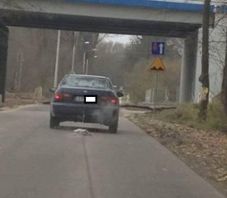 Kierowca osobówki z kraśnicką rejestracją przez 2 km ciągnął psa za autem
