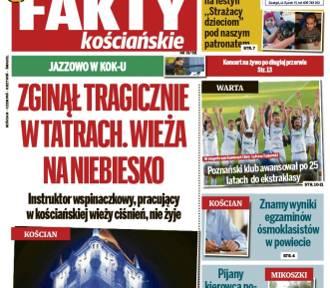 """UWAGA! Nowy numer """"Faktów Kościańskich"""" od dziś w sprzedaży"""